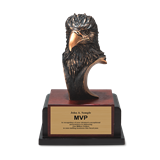 Eagle Head - Brushed Bronze