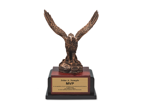 Flying Eagle - Brushed Bronze