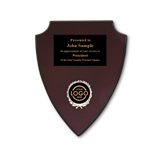 Economy Shield Plaque